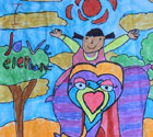 AAE Art Contest Winner | Samskara | Age 5