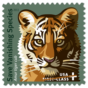 The U.S. Postal Service is proud to offer the Save Vanishing Species™ Semipostal stamp.