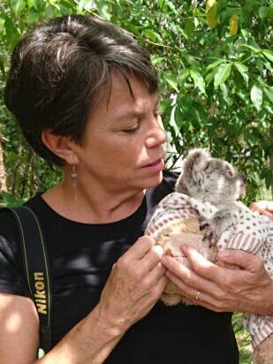 Meghan Halverson, Wildlife carer