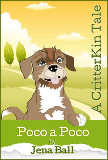 The cover of Poco a Poco by author Jena Ball.