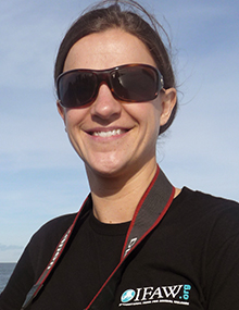 Sharon Livermore, Programme Officer, Whales