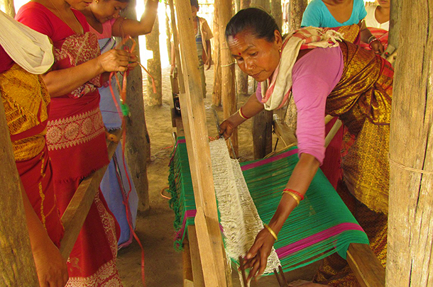 Greater Manas Conservation Project: new livelihoods through weaving