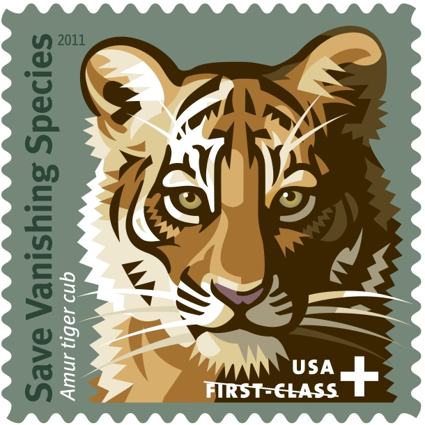 "This ""Save Vanishing Species"" stamp brought in millions of dollars for USFWS. Under Congress's new Stamp Act, more stamps will be created that will bring in money for USFWS for the next six years."