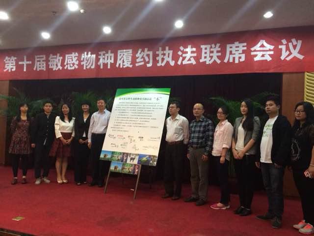 """中国互联网企业共同对非法野生动物贸易说""""不"""""""