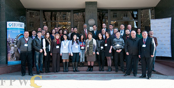 The participants from an IFAW-led training session on best practices to prevent illegal wildlife crime. Photo © FPWC