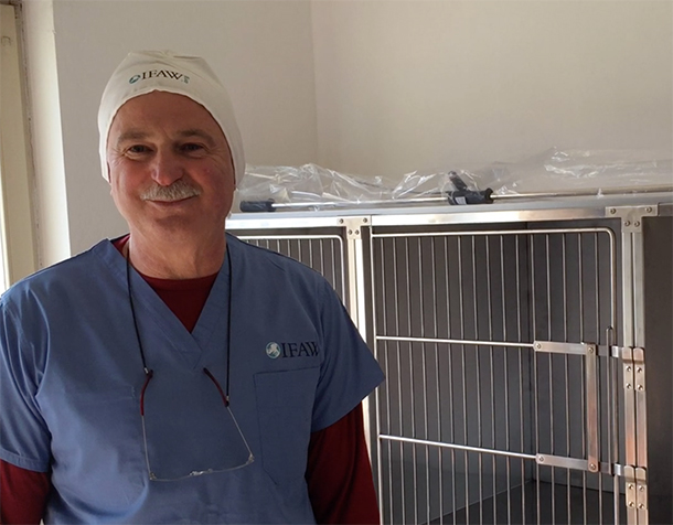 We were overjoyed when Zoran showed us the clinic.