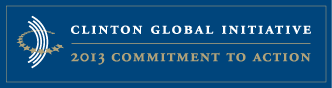 The Clinton Global Initiative logo. c. CGI 2013