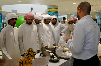 "The IFAW MENA office recently held a ""Wildlife Trade in UAE"" seminar promoting responsible tourism by encouraging travelers to ""Think Twice"" before buying wildlife souvenirs."
