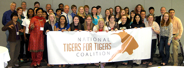 Participants of the first Tigers For Tigers Summit at Clemson University.