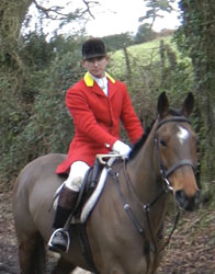 David Parker, Huntsman of the Seavington hunt, recorded at 15:21 on the day of the offence, returning from the fields where the illegal chase took place.