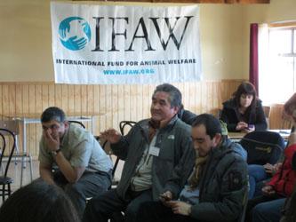 Der IFAW Workshop bietet Stadtbewohnern den Raum, ihren Sorgen und Nöten auf konstruktive Weise Luft zu machen