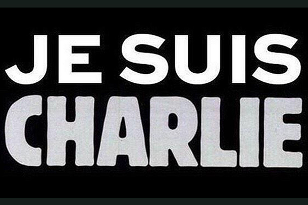 I am Charlie, or Je suis Charlie in French.