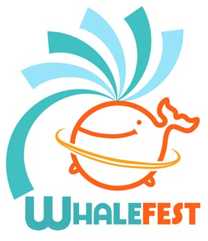 The 2011 UK Whalefest logo.