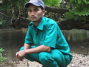 Maheshwar Basumatary, roepnaam Ontai. Foto: IFAW-WTI