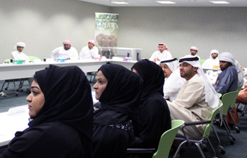 Thirty officers from Dubai Customs attended the three days workshop. c. IFAW/M. Oda