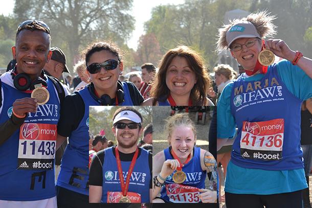 Pedro, Elena, Katie, Maria, Robert (insert left) and Ami (insert right).