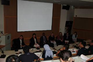 2 (left to right)NGO Panel: FREELAND Foundation, CITES Secretariat, IFAW, TRAFFIC, EIA, Department of National Parks, Thailand