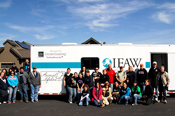 IFAW-NACA Animal Behavior and Handling course participants.