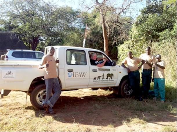 The Zambia Elephant Orphanage has a new truck thanks to your generous donations.