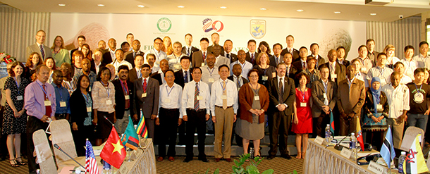 Representatives from 29 African and Asian pangolin range countries gathered for a three-day workshop.