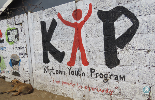 The Kliptown Youth Program (KYP) in Soweto aims to usher village children from poverty to opportunity through education. This design was previously on their t-shirts.