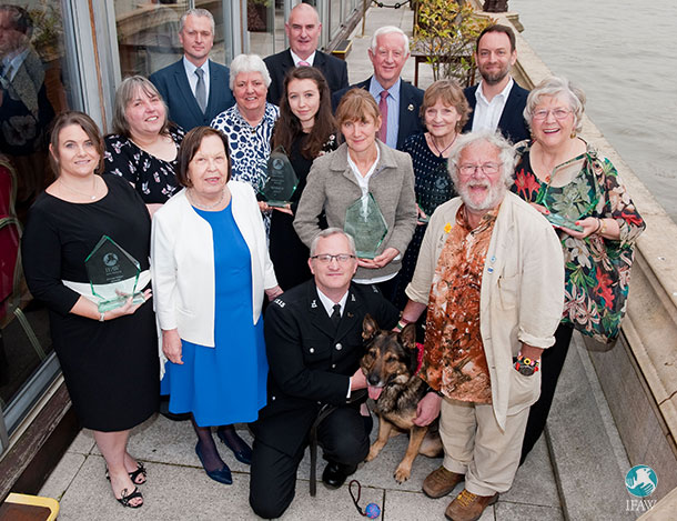 IFAW's 2017 Animal Action Awards Winners at the House of Lords