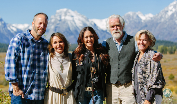 dereck and beverly joubert and actress joely fisher join ifaw team at jackson hole film festival