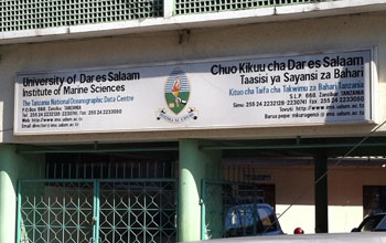 Institute of Marine Sciences, Stonetown – One of our working partners in Zanzibar