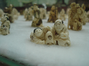 Ivory for sale by a vendor in China. c. IFAW