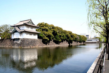 Japan's Imperial Palace in downtown Tokyo.