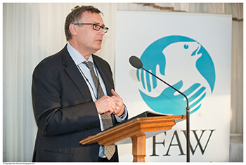 IFAW UK Director Robbie Marsland speaking at our Parliamentary event this spring