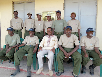 OOGR Community scouts to be trained at Manyani with support by IFAW © IFAW/E. Wamba