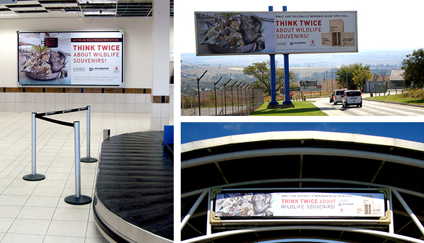 Lanseria International Airport has committed to helping end illegal trade in endangered species.