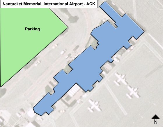 Nantucket Memorial ACK Terminal Map