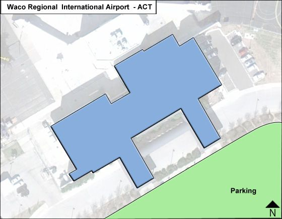 Waco Regional ACT Terminal Map