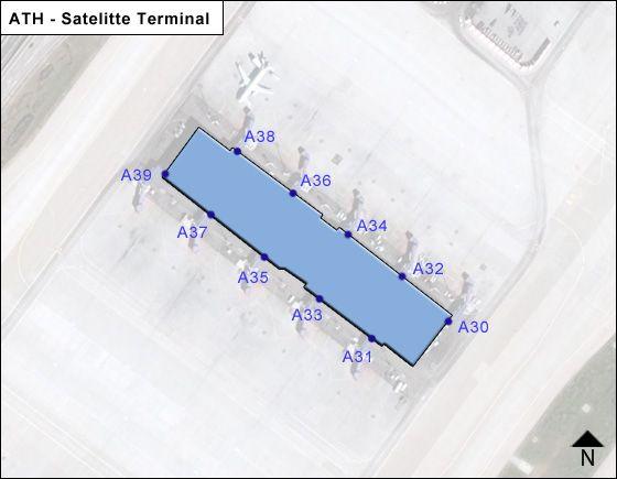 Athens Venizelos ATH Terminal Map