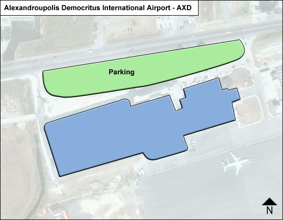 Alexandroupolis Airport Overview Map