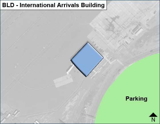 Windsor Locks Airport International Arrivals Building Map