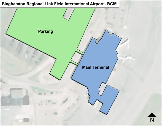 Maine Airport Overview Map