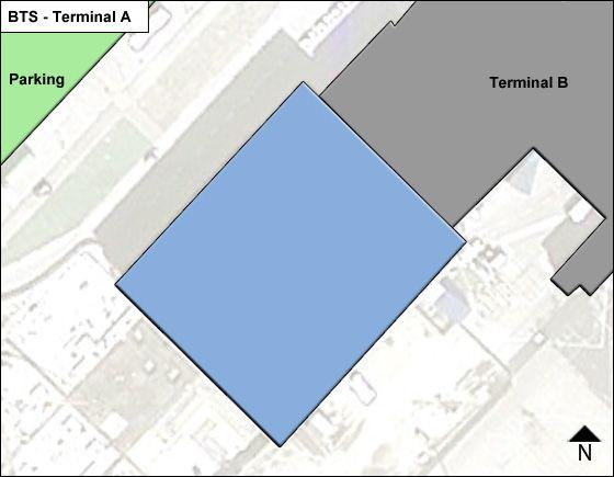 Bratislava MR Stefanika BTS Terminal Map