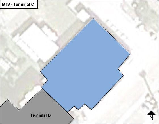 Bratislava II Airport Terminal C Map