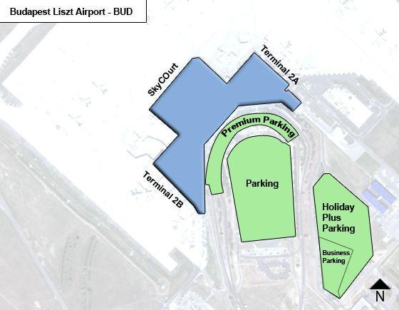 Budapest Liszt BUD Terminal Map