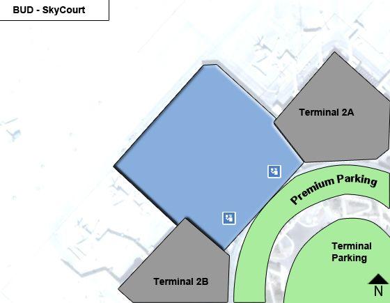 Budapest Airport Main Terminal Map