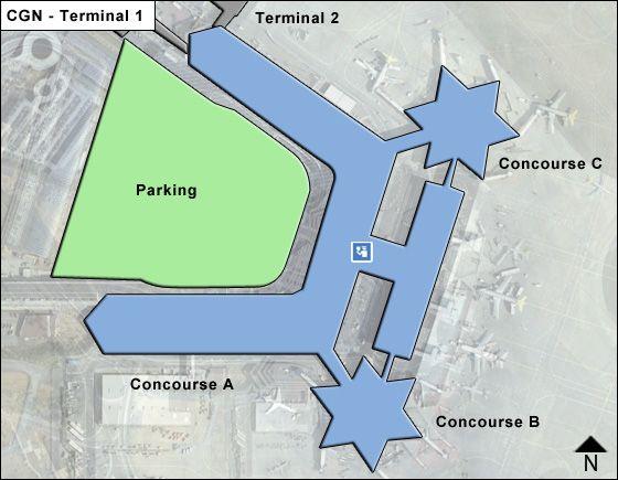 Cologne Bonn CGN Terminal Map