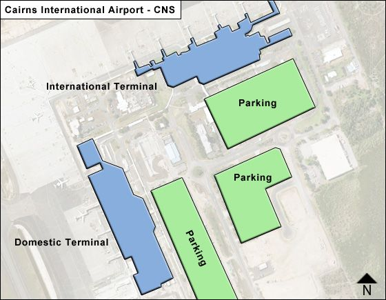 Cairns CNS Terminal Map
