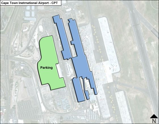 Cape Town CPT Terminal Map