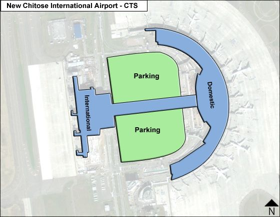 Sapporo New Chitose CTS Terminal Map