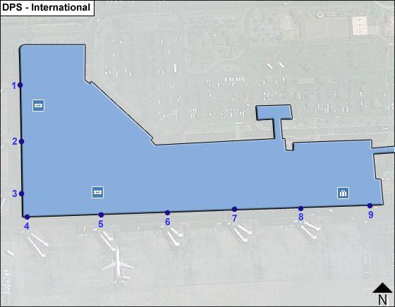 Bali Ngurah Rai DPS Terminal Map