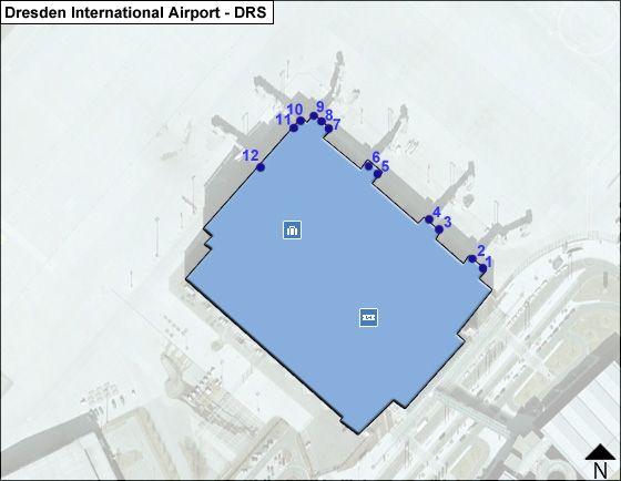 Dresden DRS Terminal Map