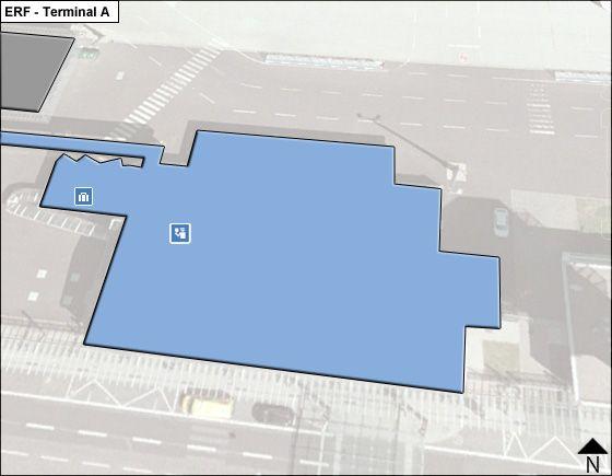 Erfurt, Thuringia Airport Terminal A Map